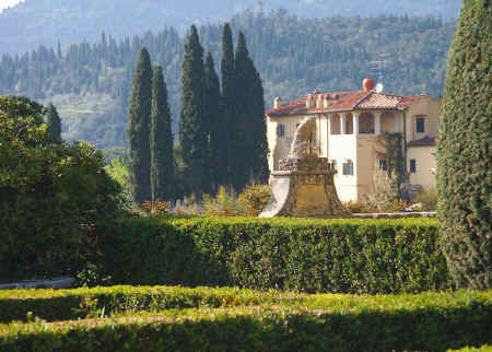 Formal gardens of Tuscany